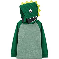 Baby Boy Carter's 3D Spikes Dinosaur Pullover Hoodie
