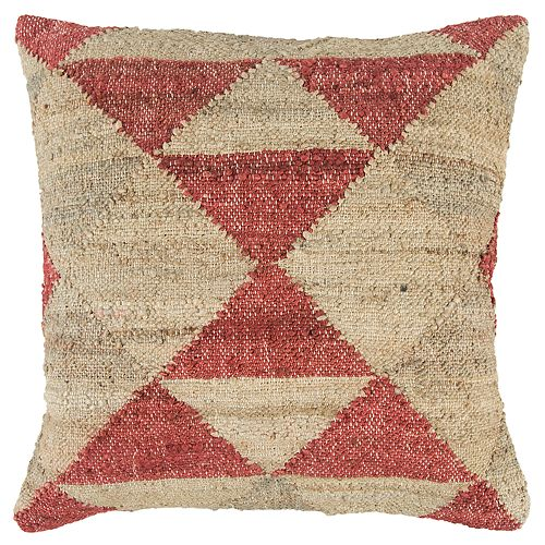 Rizzy Home Geometric Transitional Throw Pillow