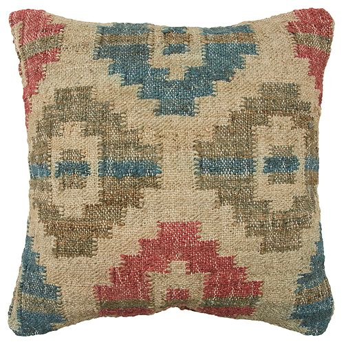 Rizzy Home Geometric Throw Pillow