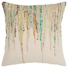 Rizzy Home Abstract Stripe Transitional Throw Pillow