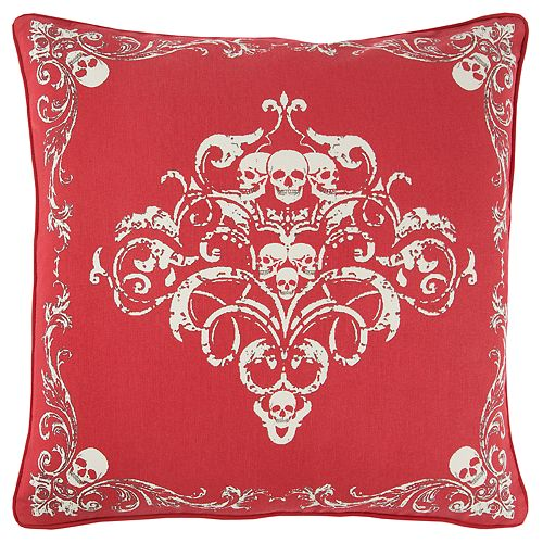 Rizzy Home Andrew Charles Graphic Print Transitional Throw Pillow