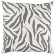 Rizzy Home Andrew Charles Animal Print Transitional Throw Pillow