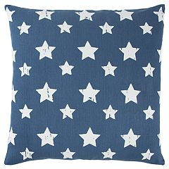 Rizzy Home Andrew Charles Star Transitional Throw Pillow