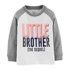 Baby Boy Carter's 'Little Brother The Sequel' Raglan Tee