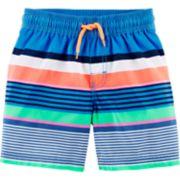 Toddler Boy OshKosh B'gosh® Striped Swim Trunks