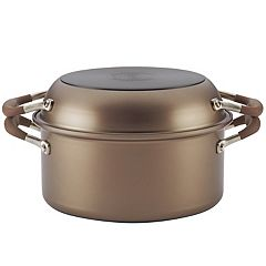Anolon Advanced 2-in-1 Nonstick 5-qt. Dutch Oven With Everything Pan Lid