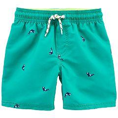 Toddler Boy OshKosh B'gosh® Whale Swim Trunks