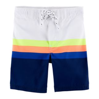 Toddler Boy OshKosh B'gosh® Striped Swim Trunks