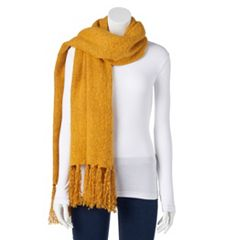 Women's SONOMA Goods for Life™ Solid Boucle Oblong Scarf