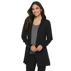 Women's Apt. 9® Mixed-Rib Cardigan