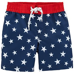 cac719f74d Boys 4-8 OshKosh B'gosh® Stars & Stripes Board Shorts