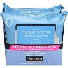 Neutrogena 2-Pack Makeup Remover Cleansing Towelettes & Face Wipes