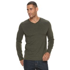 Big & Tall Apt. 9® Premier Flex Classic-Fit Stretch V-Neck Tee