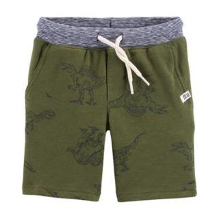 Baby Boy Carter's Dinosaur Knit Shorts