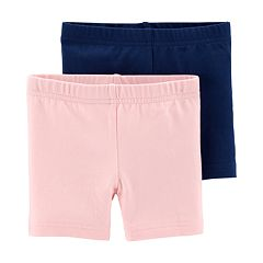 Toddler Girl Carter's 2-pack Solid Bike Shorts