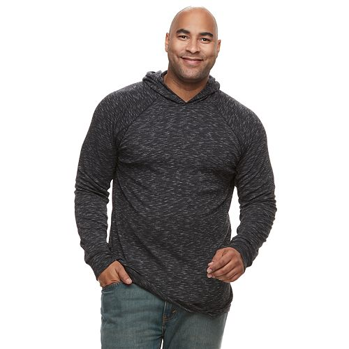 Big & Tall Apt. 9® Slubbed Pullover Hoodie