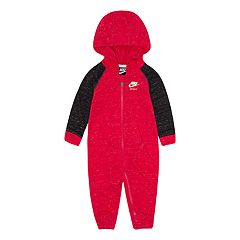 Baby Girl Nike Hooded Nep Coveralls