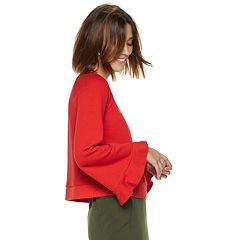 Women's POPSUGAR Bell-Sleeve Sweatshirt