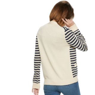 Women's POPSUGAR Striped Cardigan