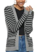 Women's POPSGUGAR Striped Cardigan