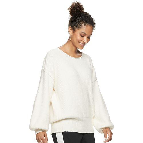 Women's POPSUGAR Balloon-Sleeve Sweater