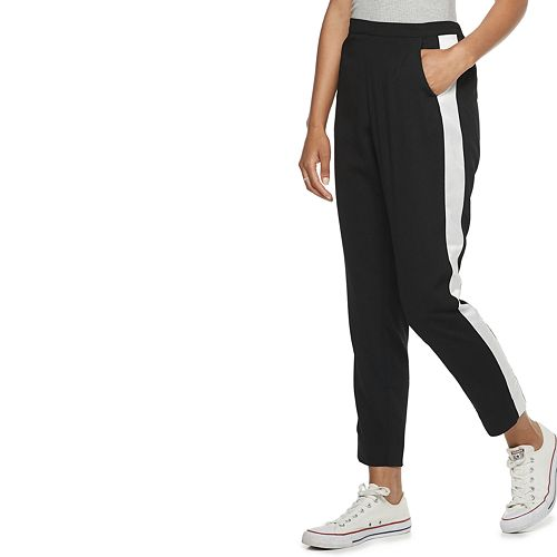 Women's POPSUGAR Colorblock Tuxedo Pants