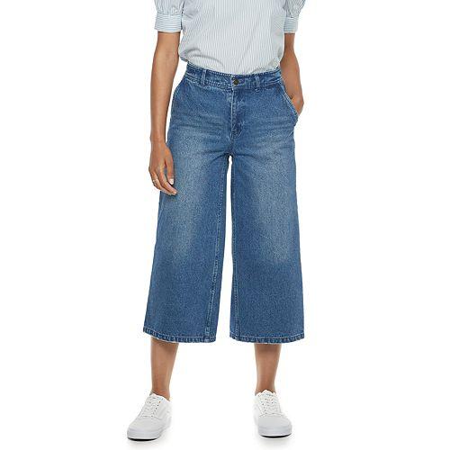 Women's POPSUGAR Flare-Leg Crop Jeans