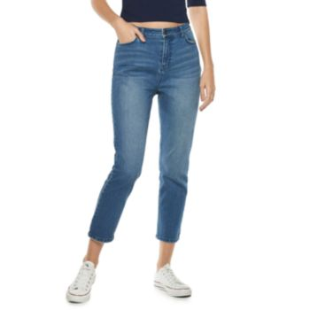 Women's POPSUGAR High-Waist Crop Jeans