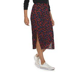 Women's POPSUGAR Print Midi Skirt