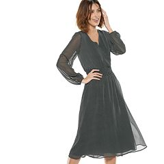 Women's POPSUGAR Print Smocked Midi Dress