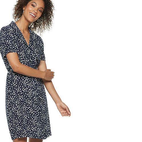 Women's POPSUGAR Print Shirt Dress