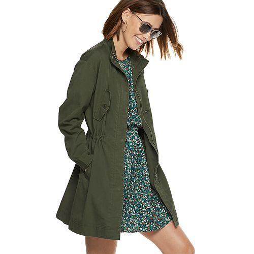 Women's POPSUGAR Drop-Shoulder Anorak Jacket