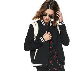 85dafcc328e0 Womens Black Bomber Lightweight Coats   Jackets - Outerwear ...