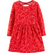 Baby Girl Carter's Heart Cut-Out Back Dress