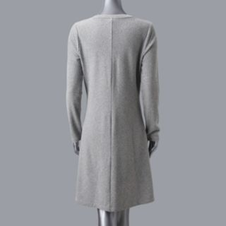 Women's Simply Vera Vera Wang Luxe Fit & Flare Sweater Dress