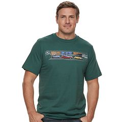 Big & Tall Cotton Links Cali Roads Graphic Tee
