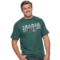 Big & Tall Cotton Links Motorcycle Graphic Tee
