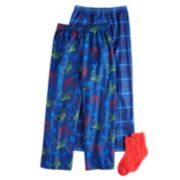 Boys 4-16 Up-Late Gamer 2-Pack Lounge Pants