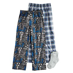 Boys 4-16 Up-Late Sports 2-Pack Lounge Pants