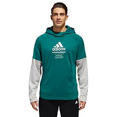 Men's adidas Mock-Layered Hoodie