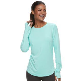Women's Tek Gear® Thumb Hole Long Sleeve Tee