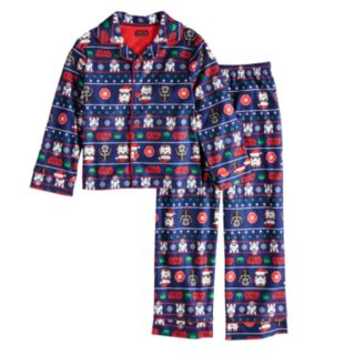 Boys 6-12 Star Wars Holiday 2-Piece Pajama Set
