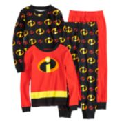 Boys Disney / Pixar The Incredibles 4-Piece Pajama Set