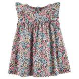 Baby Girl Carter's Floral Ruffled Dress