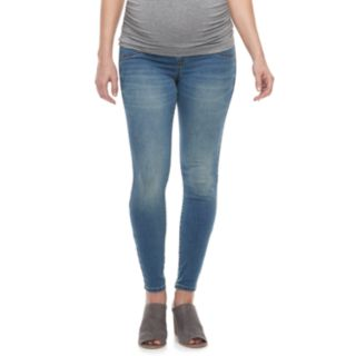 Maternity a:glow Full Belly Panel Jeggings