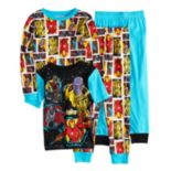 Boys 4-10 Avengers 4-Piece Pajama Set
