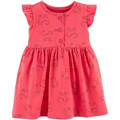 Baby Girl Carter's Cat Henley Dress