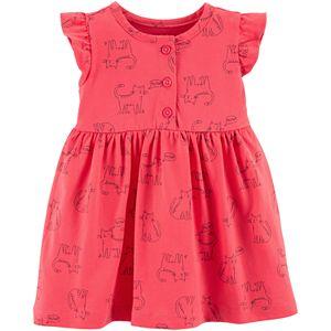 230ec92cd498 Baby Girl Carter's Heart Kitty-Pocket Dress. (3). Sale