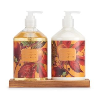 Simple Pleasures Honey Almond Scented Hand Soap & Hand Lotion Set