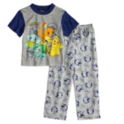 Boys 6-10 Pokemon 2-Piece Pajama Set